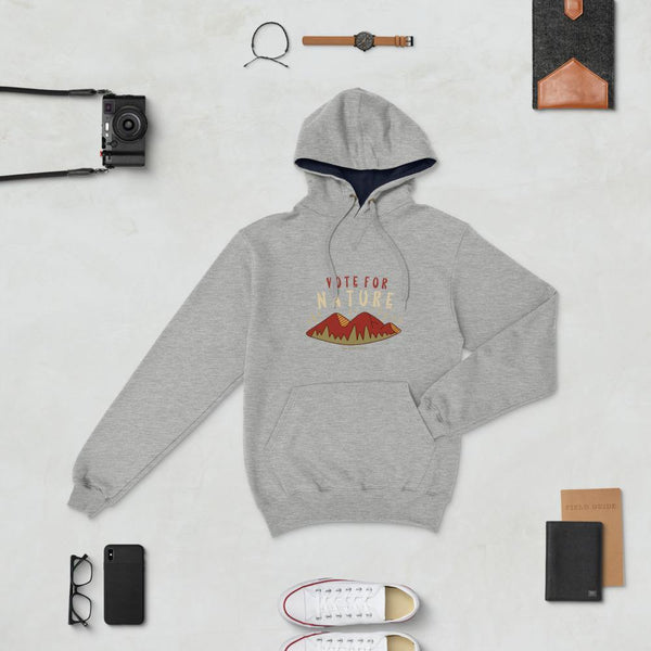 Men's Champion Hoodie - Vote For Nature