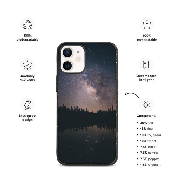 Biodegradable Phone Case - Starry Night