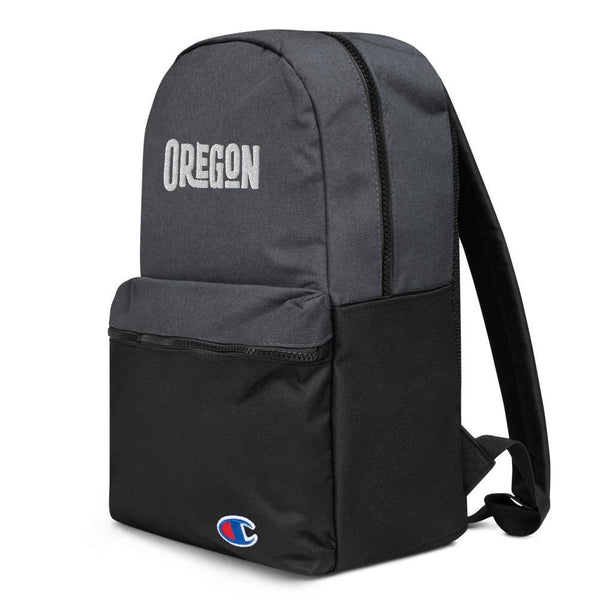 Embroidered Champion Backpack - OREGON - Thegreatplanet