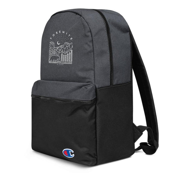 Embroidered Champion Backpack - YOSEMITE