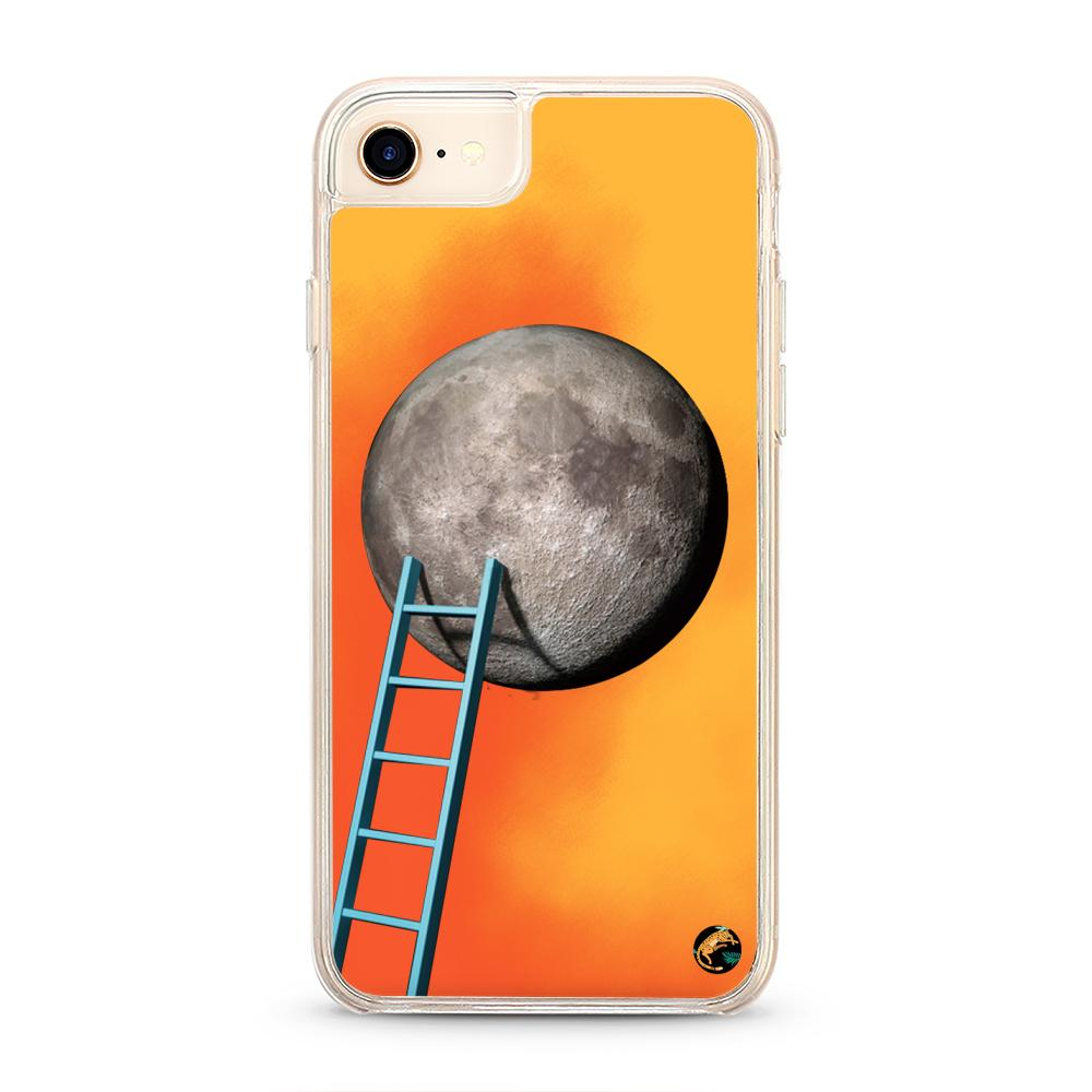 Moon Pattern Neon Quicksand iPhone Case for iPhone 6/6S - The Great Planet Official Store