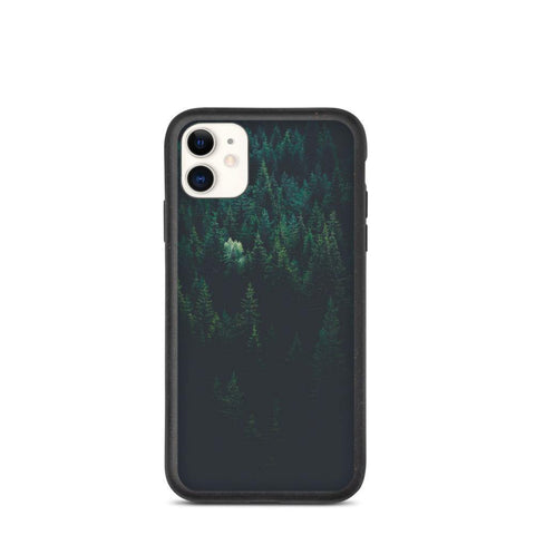 Biodegradable Phone Case - Moody Forest - Thegreatplanet