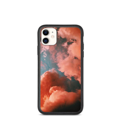 Biodegradable Phone Case - Clouds