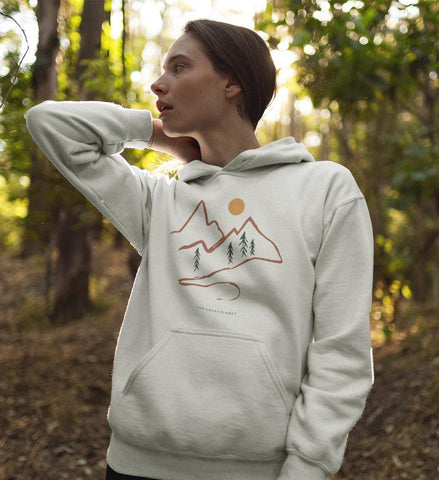Unisex Hoodie - Mountains
