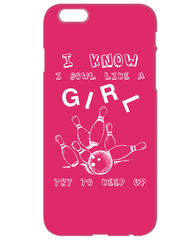 Bowl Like A Girl Phone Cover