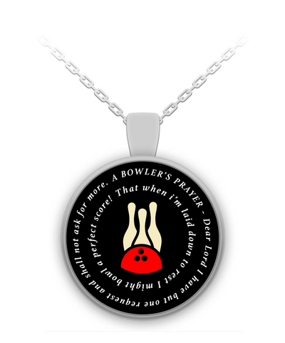 Bowlers Prayer Necklace
