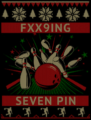 FXX9ING 7 PIN Christmas Shirt Special