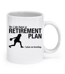Bowling Retirement Women's Mug