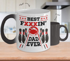 Best FxxxIN' Dad - Color Change Heat Mug
