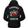 F###ING SEVEN PIN - Design on Back