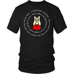 A Bowler's Prayer Shirt - Design On Front