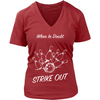 When in doubt strike out (design on front)