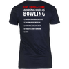 Five Things I Like Almost As Much As Playing Bowling - Design On Back