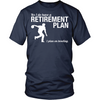 Bowling Retirement Plan - Men's Design On Front