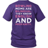 Bowling Moms Are Bilingual