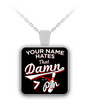 Custom Name 7 Pin Necklace