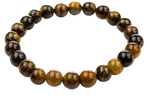 Stretchable Tiger Eye Healing Prayer Beads Bracelet