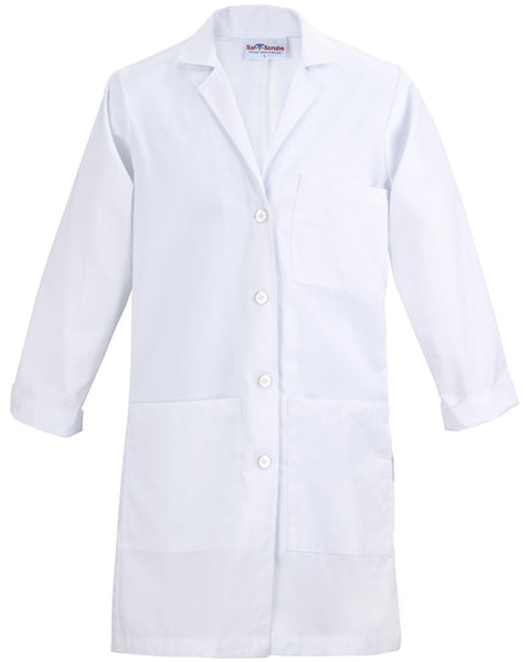 "Women's Lab Coat - 37"" Full Length"