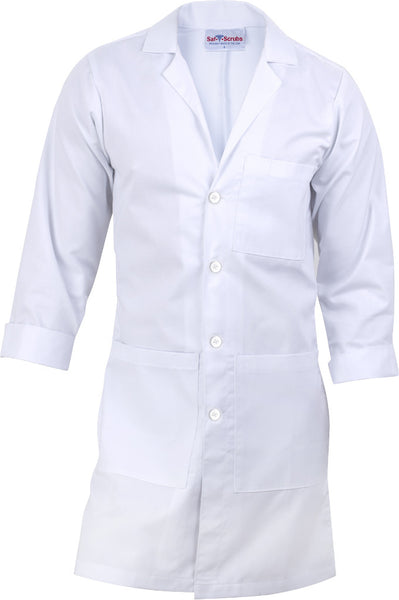"Men's Lab Coat - 40"" Full Length"