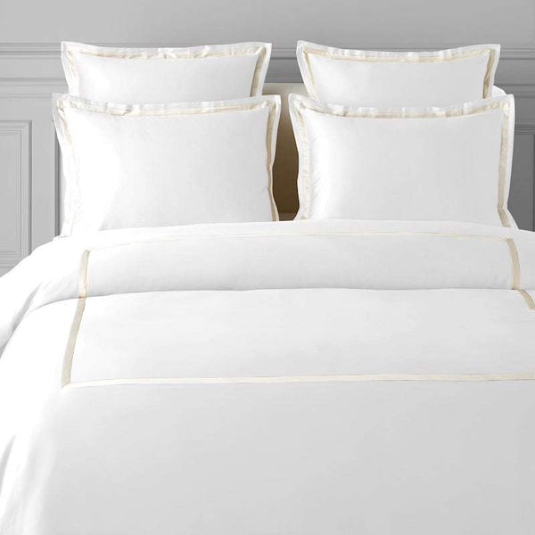TYPEFACE #8 DUVET COVER SET - 1000 THREAD COUNT.