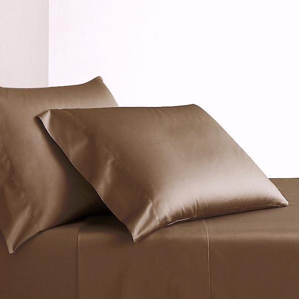 METALLIC BRONZE - 600 THREAD COUNT BEDDING.