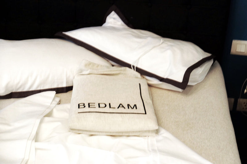 NOCTURNE #1 - PERCALE BED SHEETS SET.