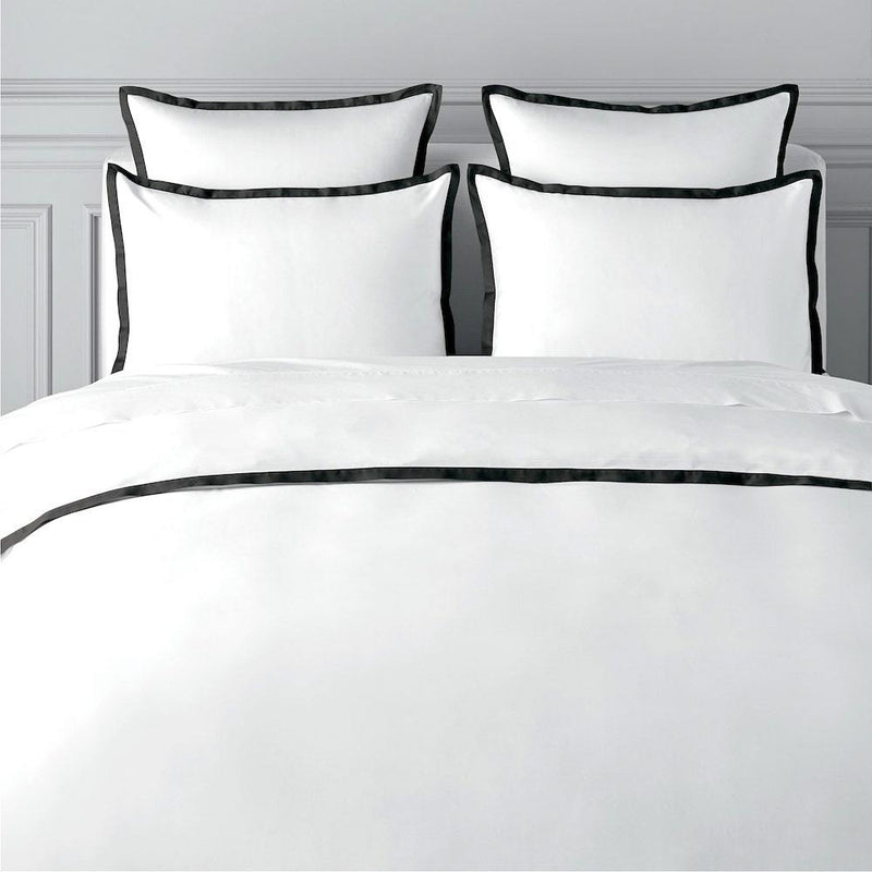 TYPEFACE #6  DUVET COVER SET - 400 THREAD COUNT.