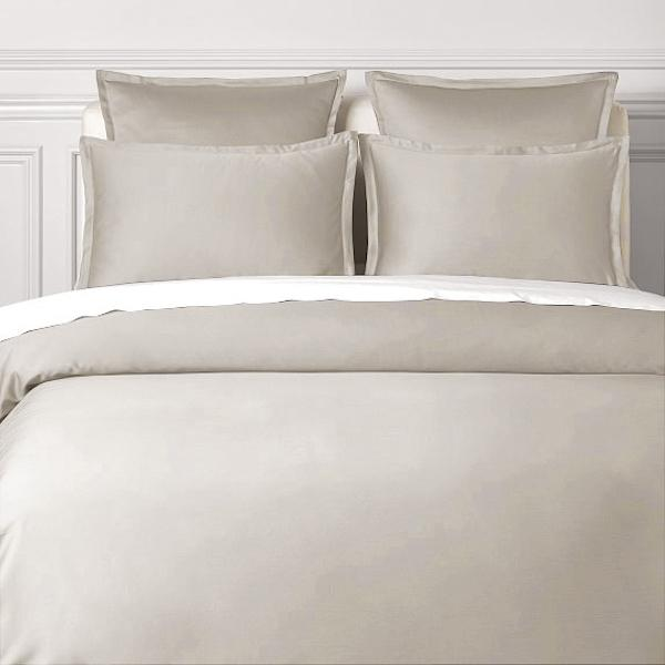 ANTIQUE SILVER - 600 THREAD COUNT BEDSHEET SET.