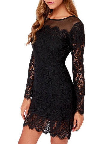 made2envy Belle Gentle Lace Bodycon Dress