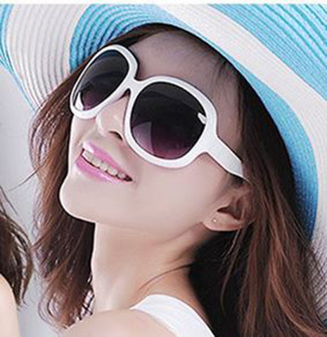 Oversized Fashion Frame UV400 Lens Sunglasses