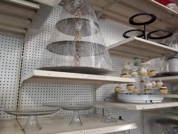 Cake Stands - Glass and Lazy Susan