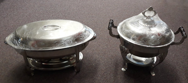 Chafers - Oval and 4 Quart Round Ornate