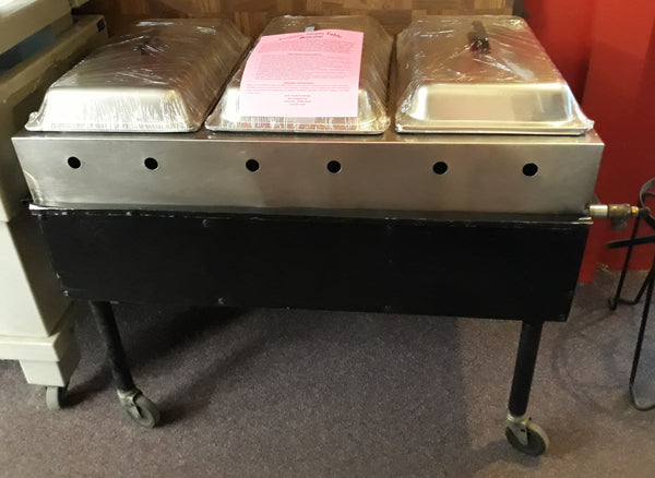 Chafers - Propane Steam Table (For Outdoor Use Only)