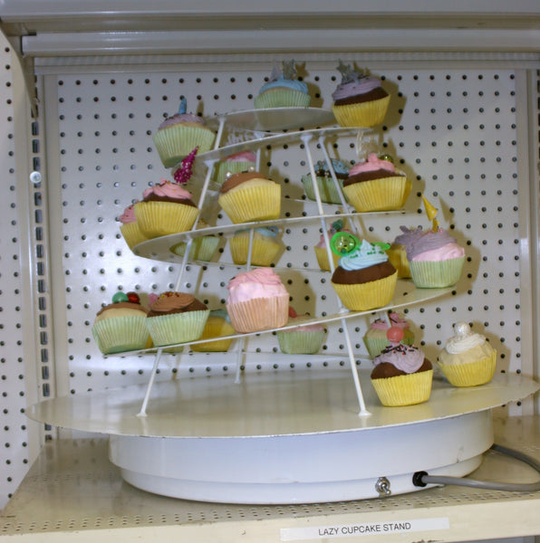 Cupcake Stand with Electric Lazy Susan
