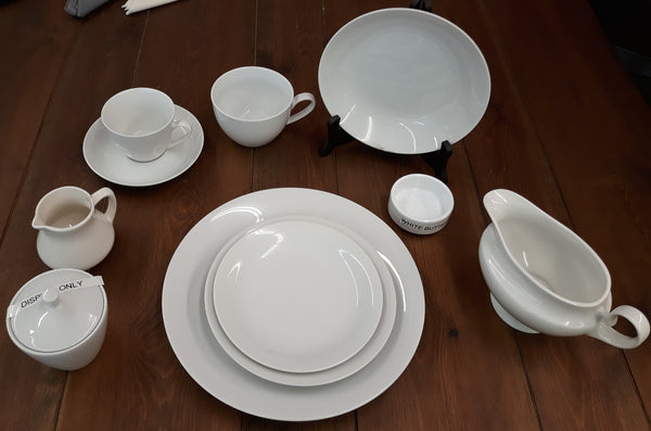 Dishes - Classic White