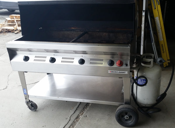 Grill - 48 inch with Hood