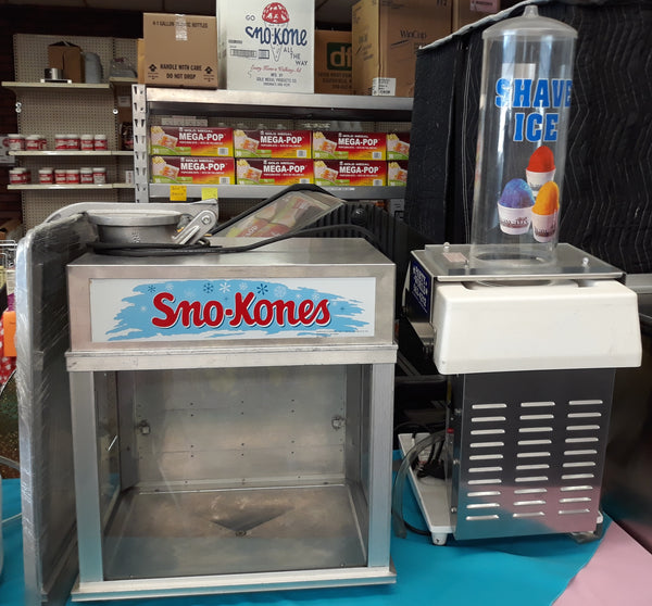 Snow Kone and Shave Ice Machines
