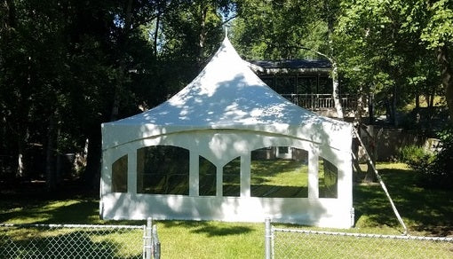 Tent - 20x20 with Windows