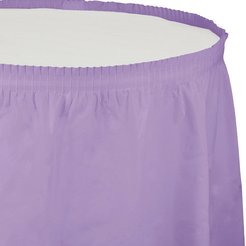 Table Skirt - Lavender