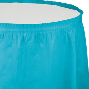 Table Skirt - Bermuda Blue