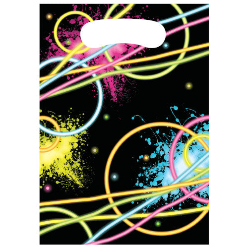 Loot Bags - Glow Party 8ct