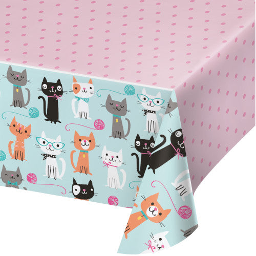 Table Cover - Cat Party