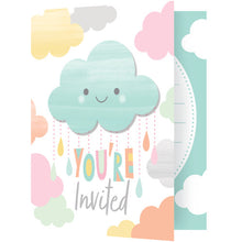 Load image into Gallery viewer, Invitations - Sunshine Showers 8ct