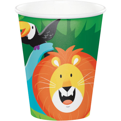 Cups - Jungle Safari 8ct