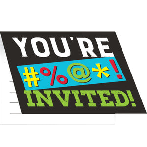 Invitations - Age Humor 8ct