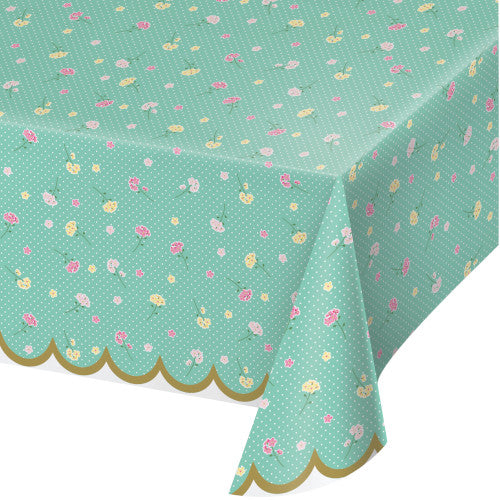 Table Cover - Tea Party