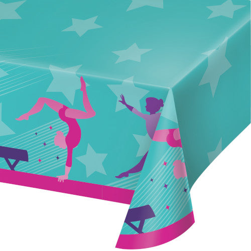 Table Cover - Gymnastic Party