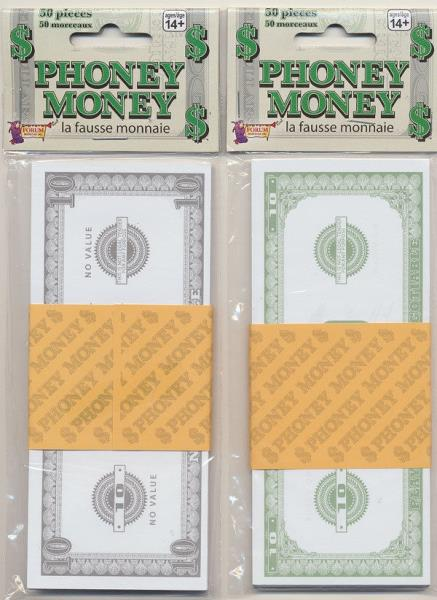 Phoney Money - $10 Bills 50ct