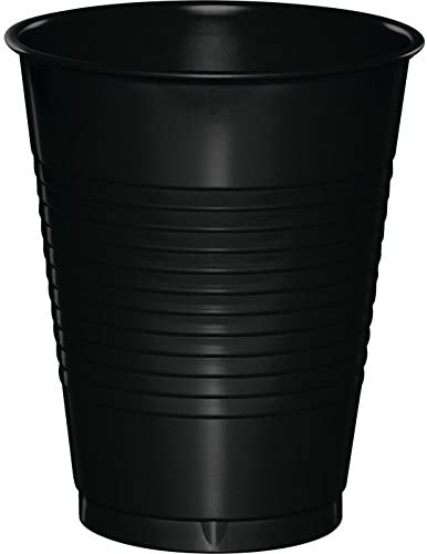 Plastic Cups - Black Velvet 20ct
