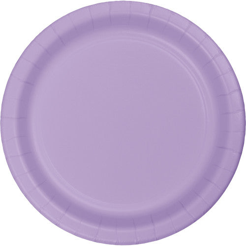 Lunch Plates - Lavender 24ct